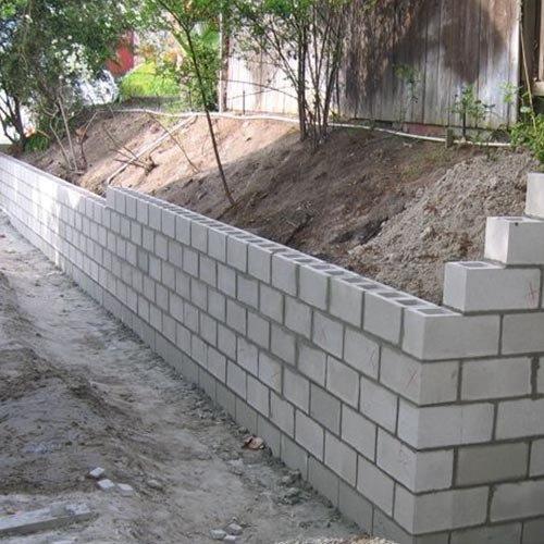 Laudo de muro de arrimo