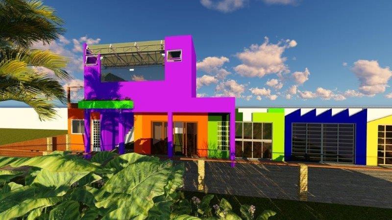 Projeto arquitetônico comercial